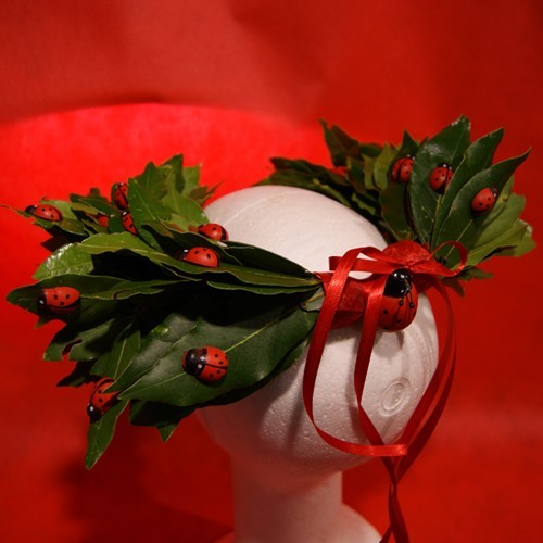 Coroncina Alloro regalo laurea corona alloro coroncina rosso compra ... 640caa8f4dc8